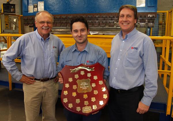 Safety Award Presentation - Thomas & Coffey